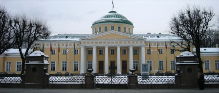 Taurida Palace in St Petersburg, the seat of the prerevolutionary Duma