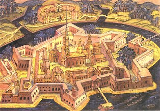 "Planning a ""regular"" city: Peter and Paul Fortress in St. Petersburg"
